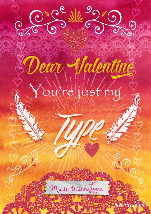 Dear Valentine Poster